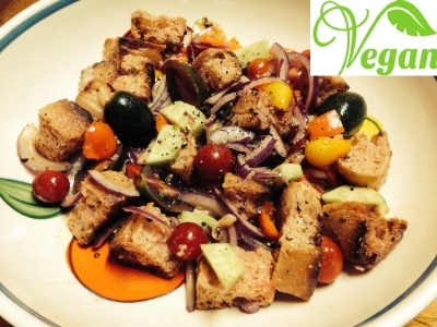 VEGAN and CRUELTY FREE Tuscan dinner with chef in villa