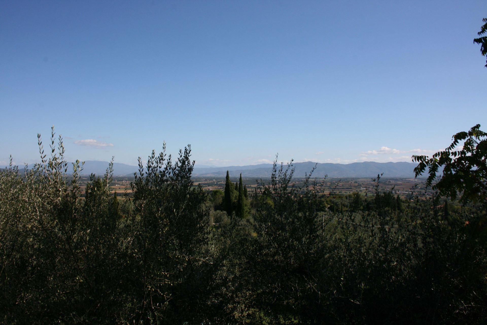 VILLAS WITH POOL LA MAESTA MONTE SAN SAVINO TOSCANA