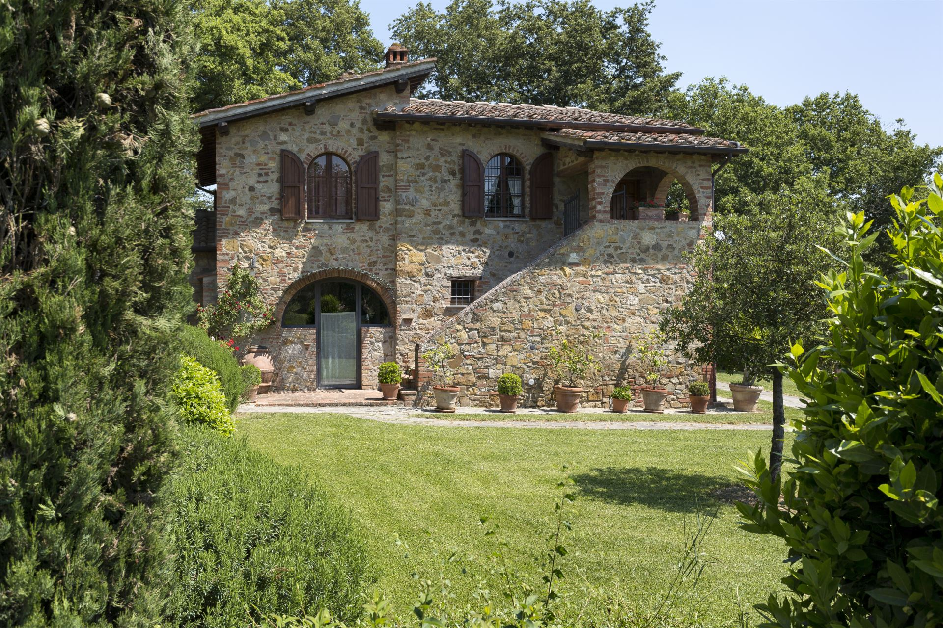 VILLAS WITH POOL VILLA LA SELVA LUCIGNANO TOSCANA