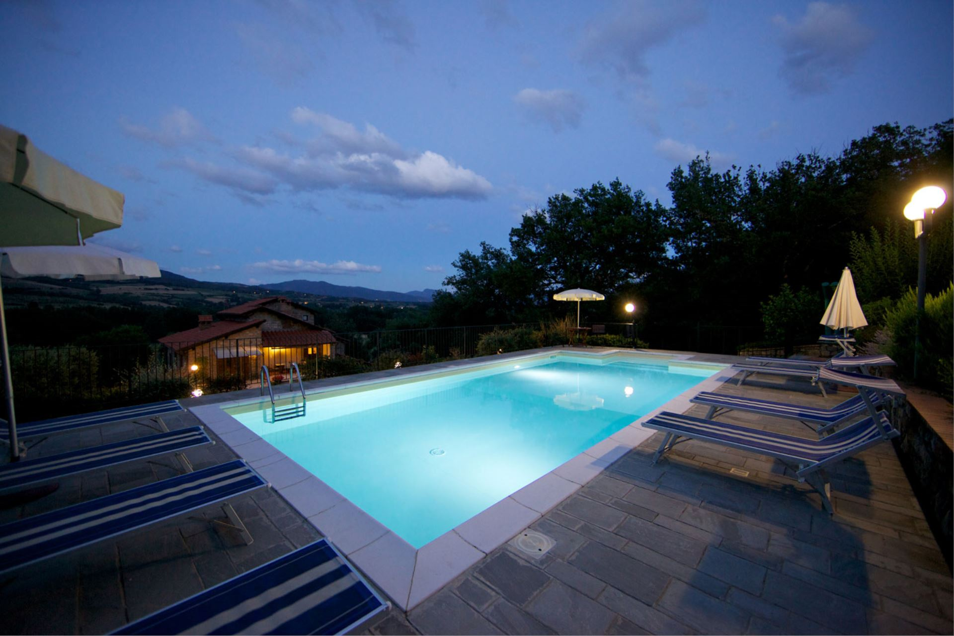 VILLAS WITH POOL PODERE VARLUNGA CASTEL SAN NICCOLÒ TOSCANA