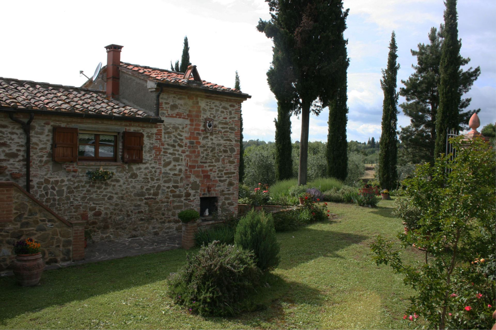 VILLAS WITH POOL PODERE CAPANNE SINALUNGA TOSCANA
