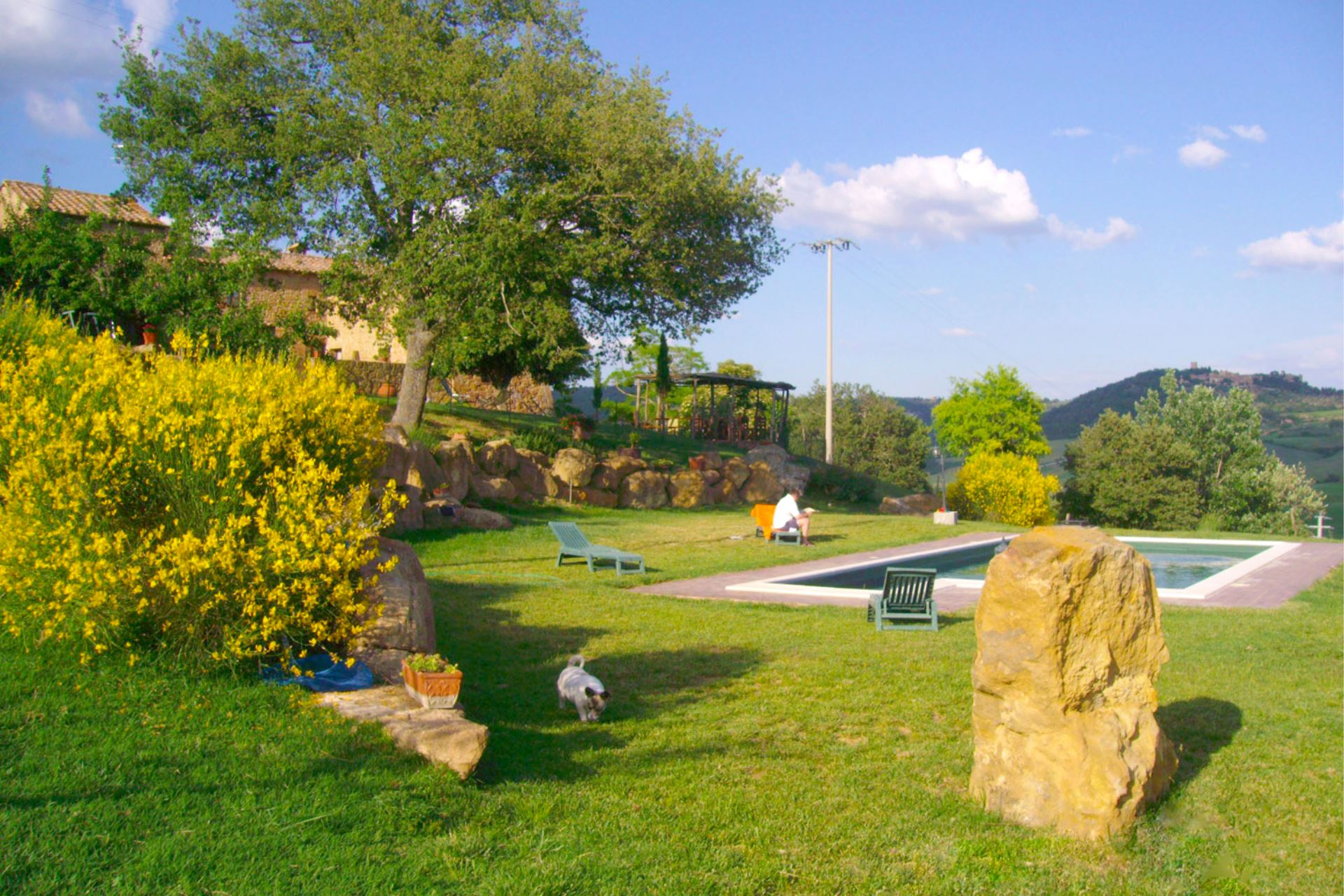 VILLAS WITH POOL FONTE ALL OPPIO PIENZA TOSCANA