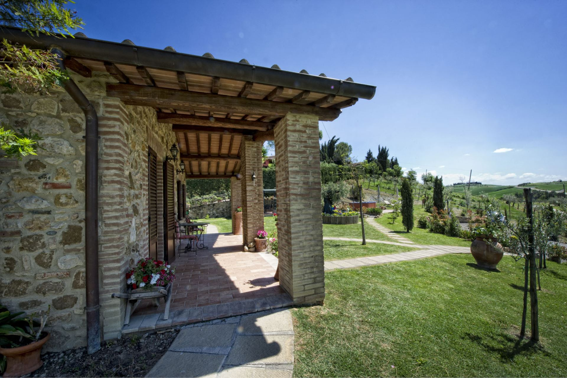 APARTMENTS WITH POOL IL MELOGRANO SAN QUIRICO D'ORCIA TOSCANA