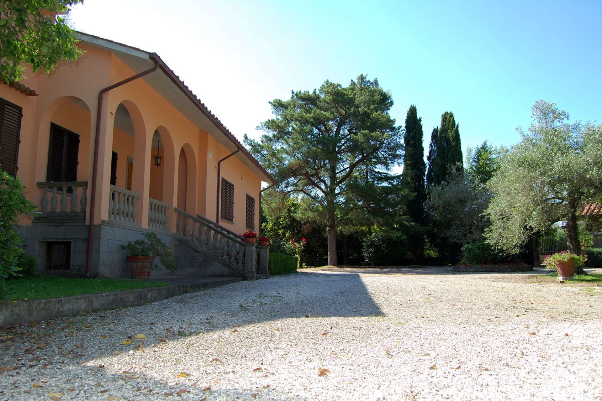 VILLAS WITH POOL CASA GRION CORCHIANO LAZIO