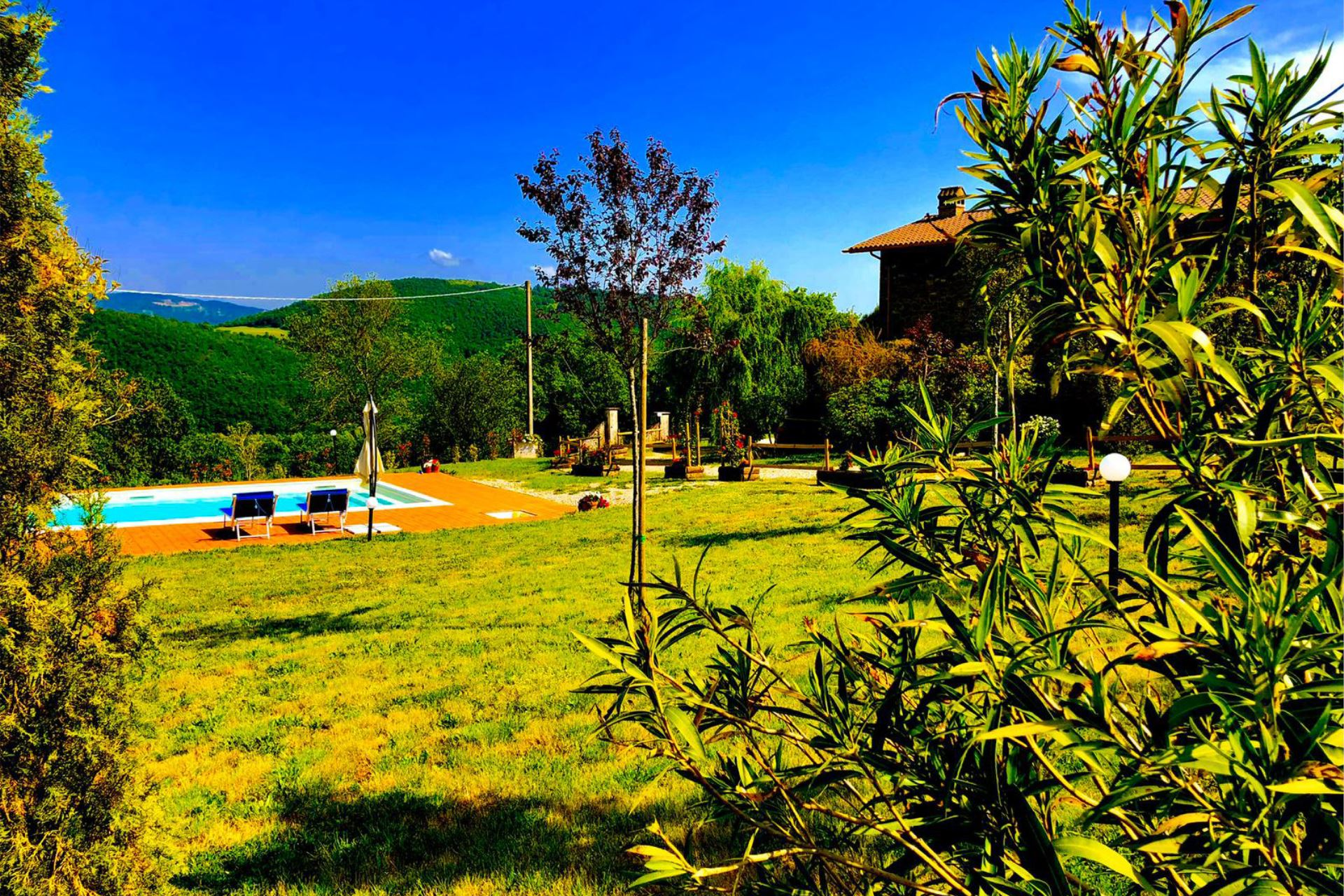 VILLAS WITH POOL AGRITURISMO VISTA SOLE CORTONA TOSCANA