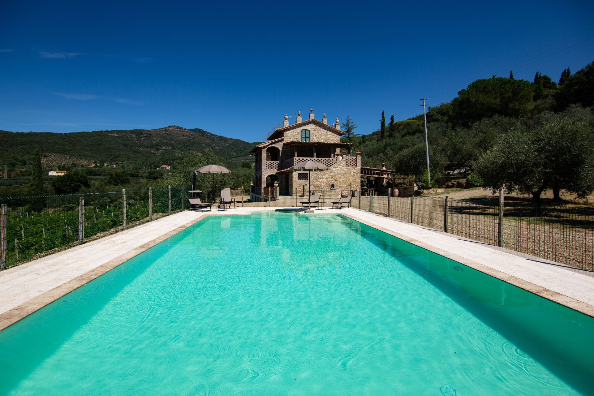 Villa Giotto with private pool and shared tennis