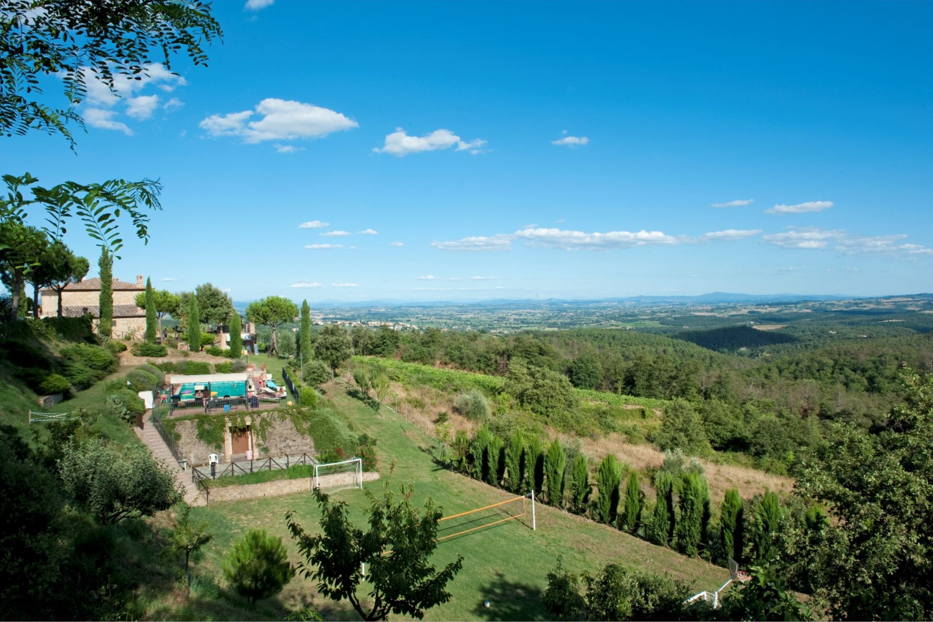 VILLAS WITH POOL INFINITO 12 SINALUNGA TOSCANA